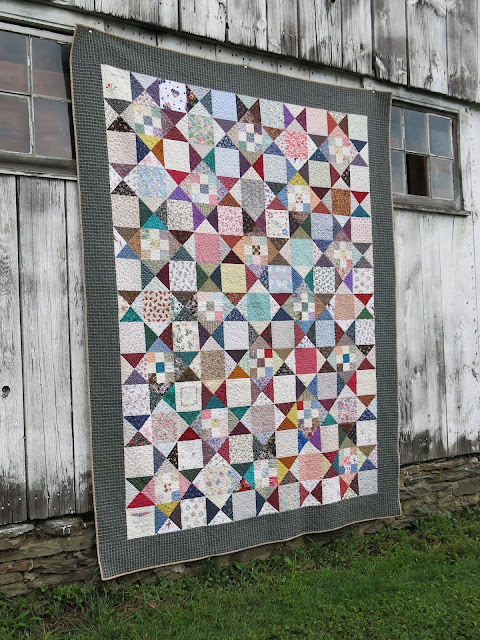 Learn Family Scrap Exchange Quilt