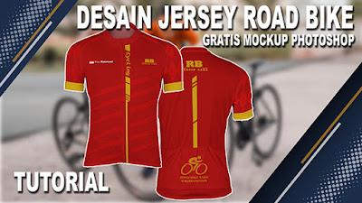 Mockup Jersey Road Bike