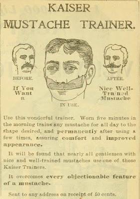 Kaiser Mustache Trainer