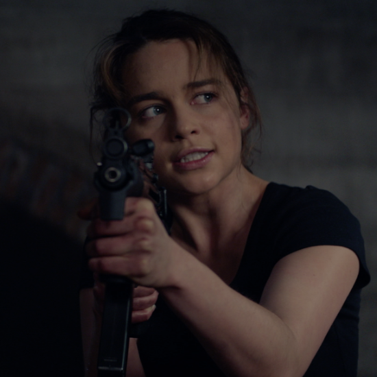 P chan movie info review terminator genesys - Sarah connor genisys actress ...