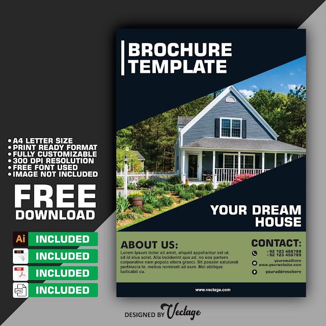 property brochure, brochure design, real estate brochure design, brochure design free download,
