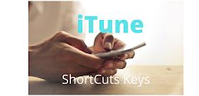itunes shortcuts windows 10