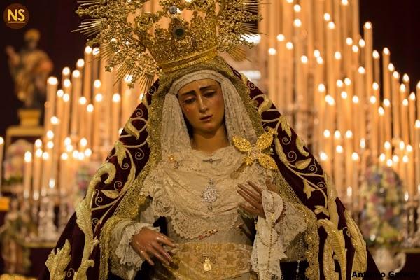 Los Gitanos de Sevilla suspende la procesión extraclaustral de la Virgen de las Angustias