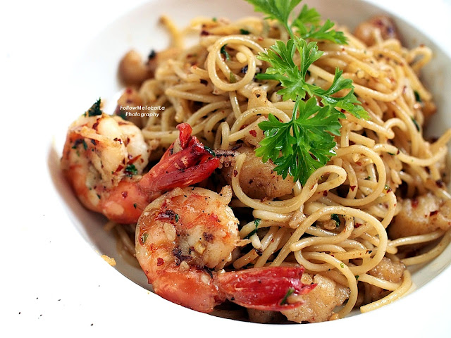 Spaghetti Aglio Olio Peperoncino  RM 45