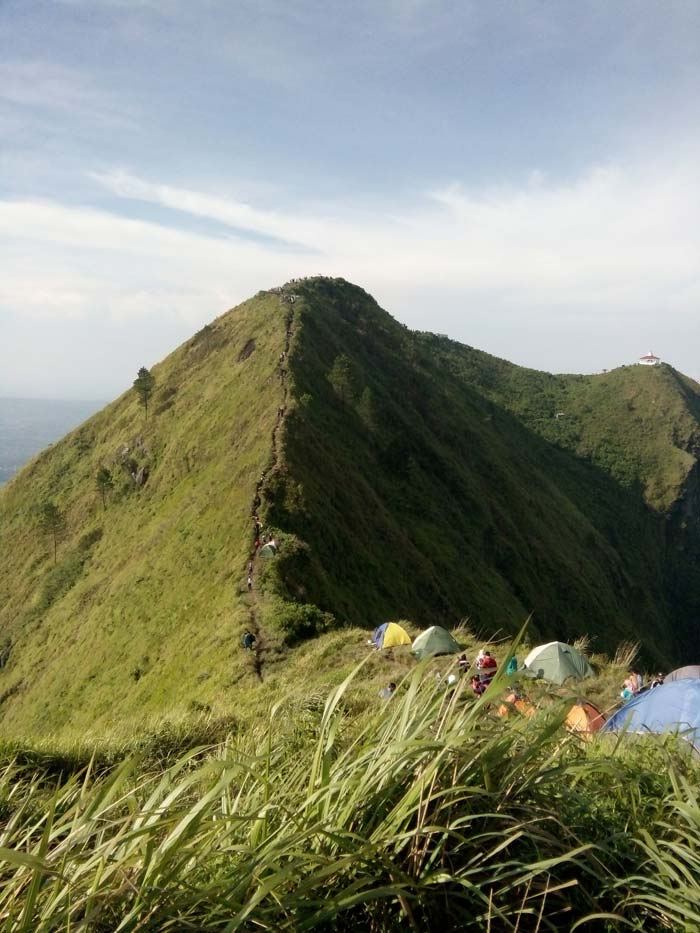 Jalur Pendakian Gunung Andong dari Magelang