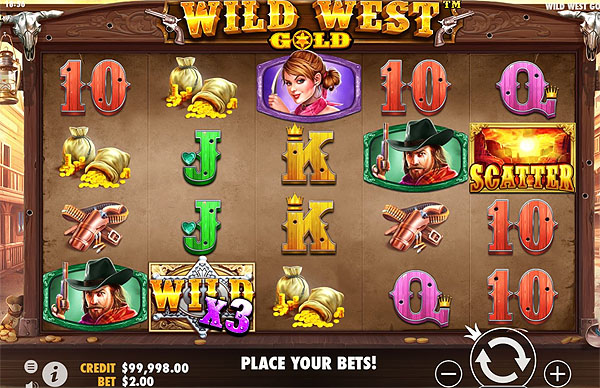 Main Gratis Slot Indonesia - Wild West Gold (Pragmatic Play)