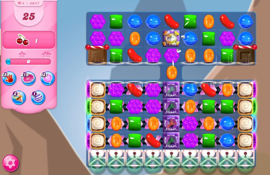 Candy Crush Saga level 8047