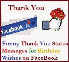 Sample Thank You Messages For Birthday Wishes On Facebook