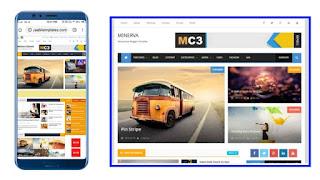 Mobile SEO Friendly Blogger Template