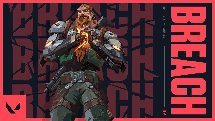 Breach, Valorant, 4K, #5.2415