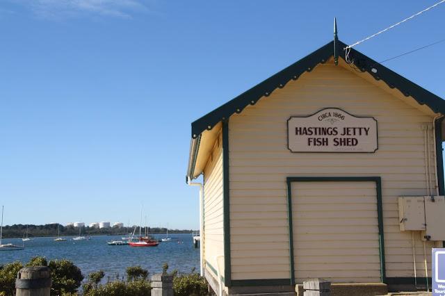 Warringine Wetlands, Hastings boat shed