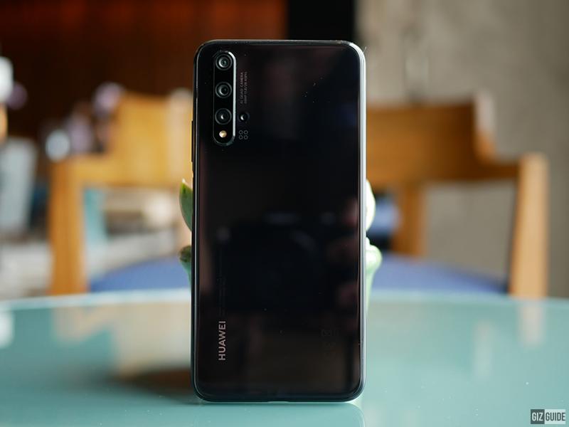 Huawei Nova 5T back design