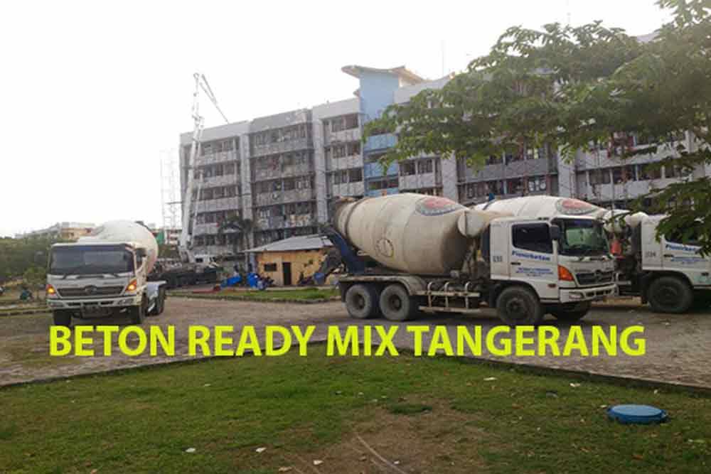harga beton cor ready mix Benda