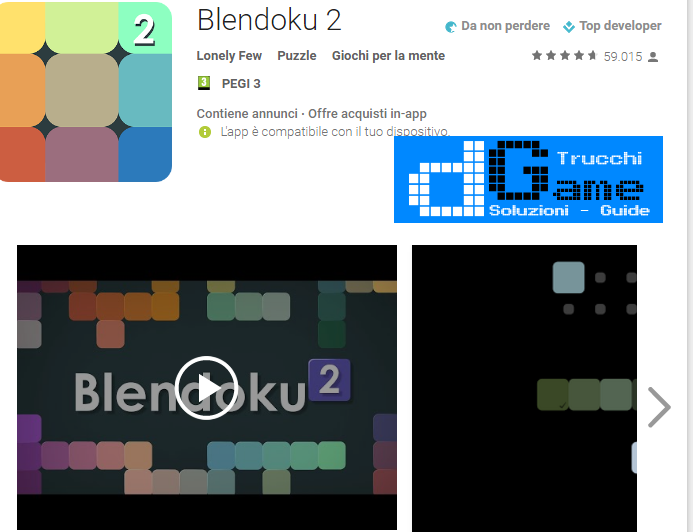 Soluzioni Blendoku 2 Simple livello 121-122-123-124-125-126-127-128-129-130 | Trucchi e Walkthrough level