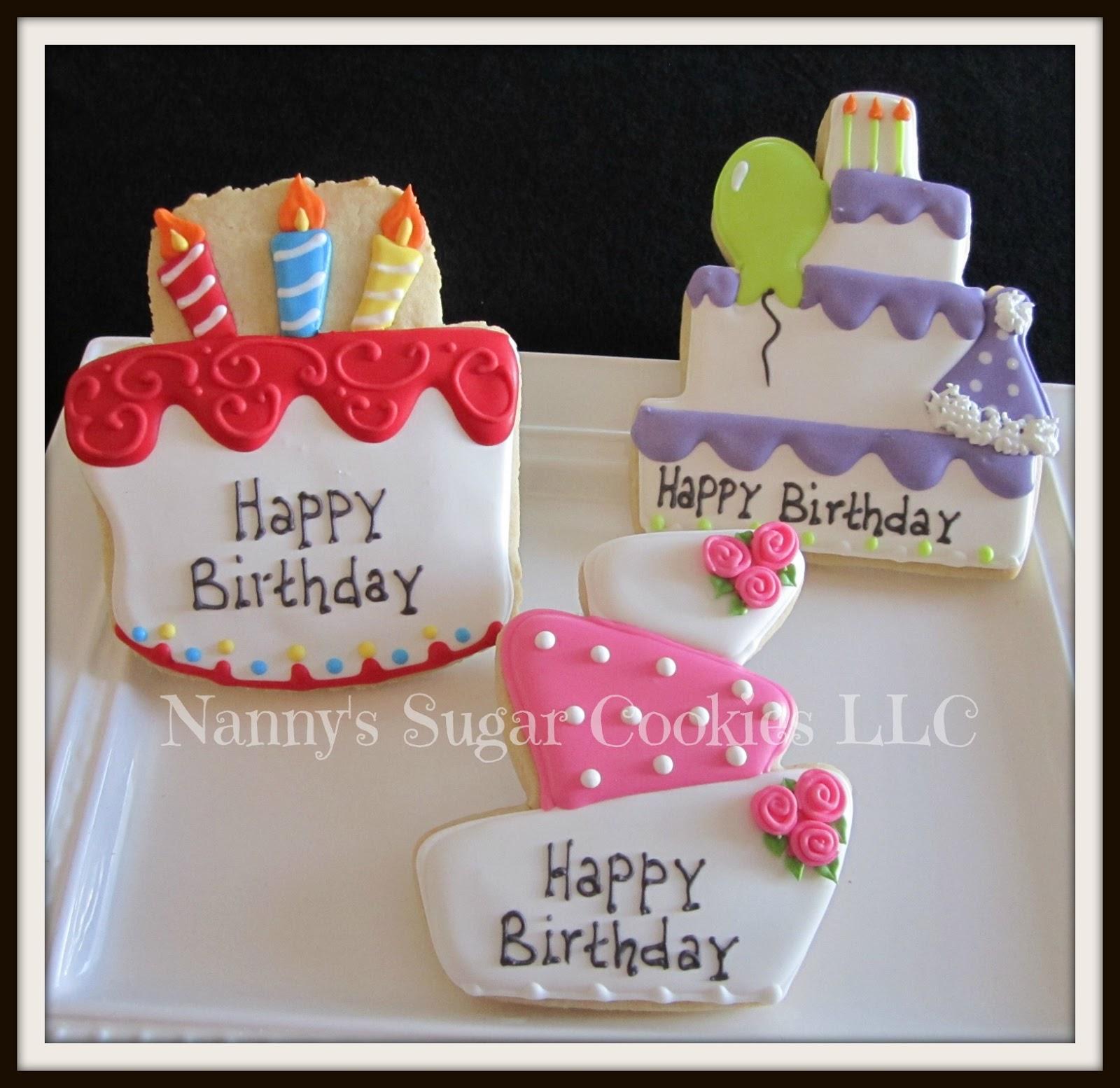 Nanny's Sugar Cookies LLC: Birthday Cookie Favors