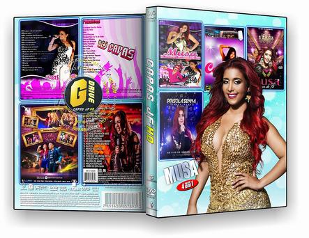 DVD COLEÇÃO MUSA BY 4X1 - ISO