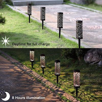 Solar Powered LED Garden Lights
