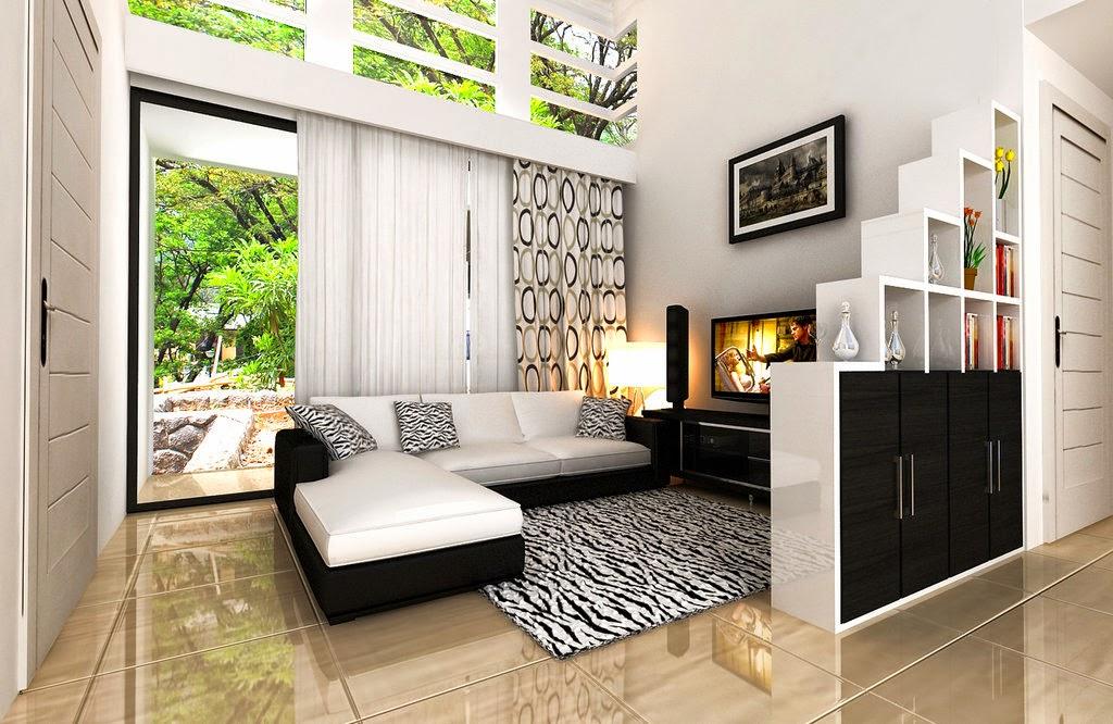 Desain Dekorasi Ruang Keluarga Minimalis Modern