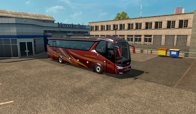 Mod Bus All New Legacy SR2 ETS2 Free By CIB co AS