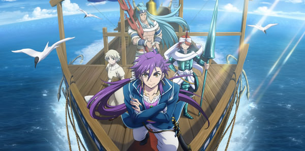 Magi: Sinbad no Bōken TV Anime