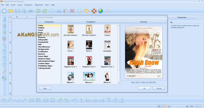 Download RonyaSoft Poster Designer Full Version Terbaru