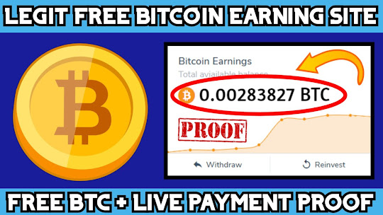 Legit Free Bitcoin earning site 2020