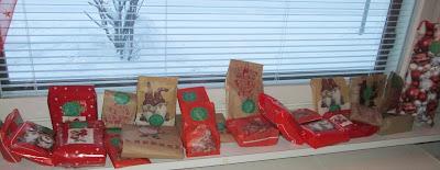 Joulukalenterivaihto