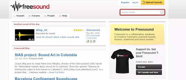 أفضل المواقع لتحميل المؤثرات الصوتية مجانا وبدون حقوق ملكية