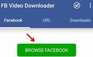browse facebook par click kare
