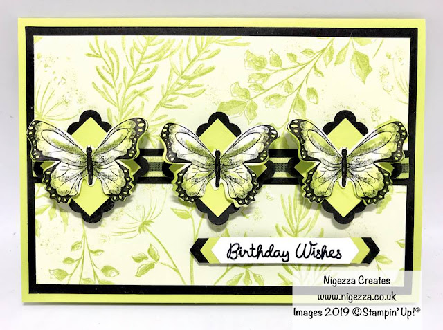 Butterfly Duet Botanical Stampin Up
