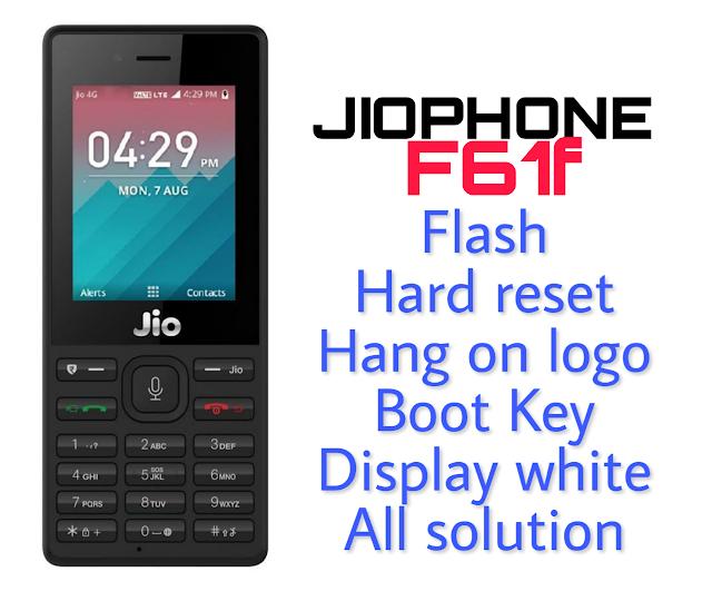 LYF Jio F61F Flash File & Tool | Hang On Logo (Latest File)