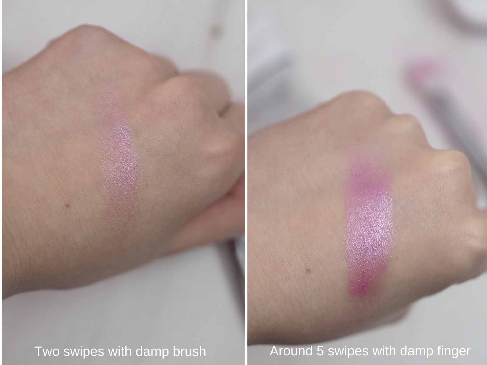Wonderland Makeup Review Wonderdust Loose Pigment Candy Swatch