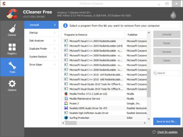 تحميل برنامج سي كلينر ccleaner للكمبيوتر