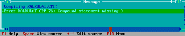 Cara Penggunaan Dan Pengoperasian Program Pada Turbo C++