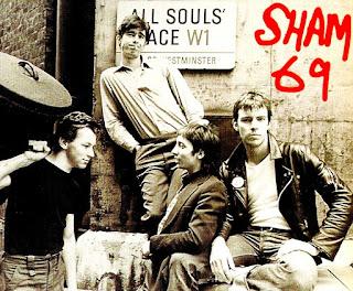Photo des membres de Sham 69