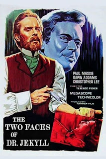 Wyrd Britain reviews Hammer's 'The Two Faces of Dr. Jekyll'.
