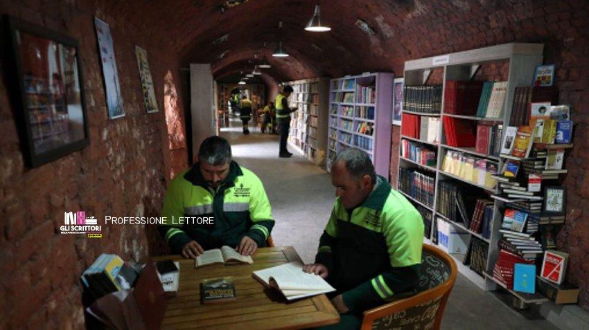 La Biblioteca degli spazzini ad Ankara