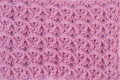 3 - Crochet Imagenes Puntada a crochet en abanicos muy facil y sencilla por Majovel Crochet