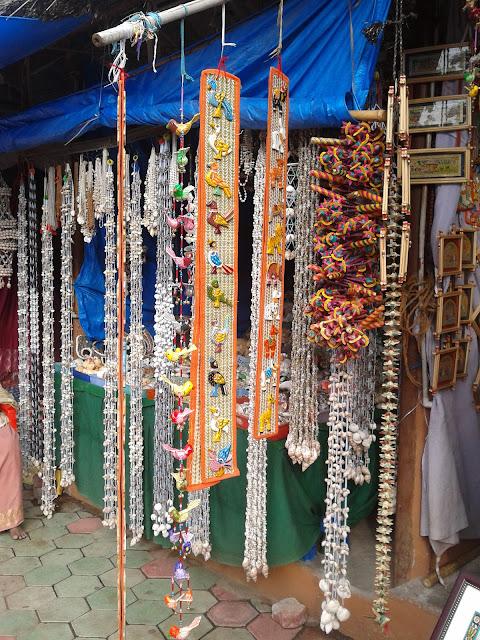 home decor items made of sea shells