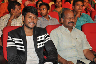 sandeep kishan at Chuttalabbayi Movie audio Launch