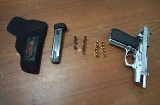 Adolescente de 16 anos é apreendido com pistola em Guarabira