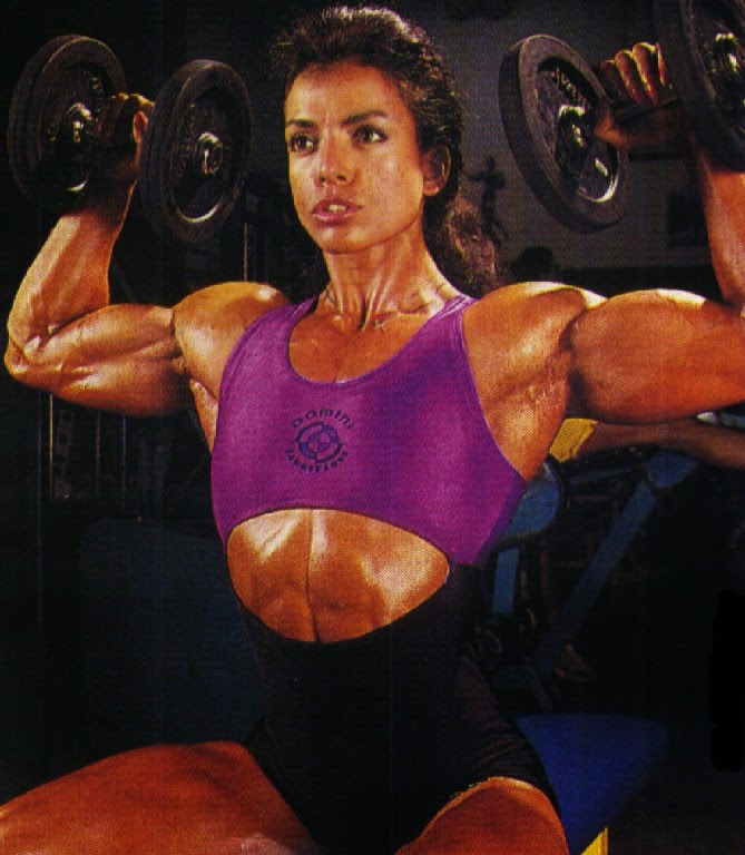 professional Canadian female bodybuilder and fitness