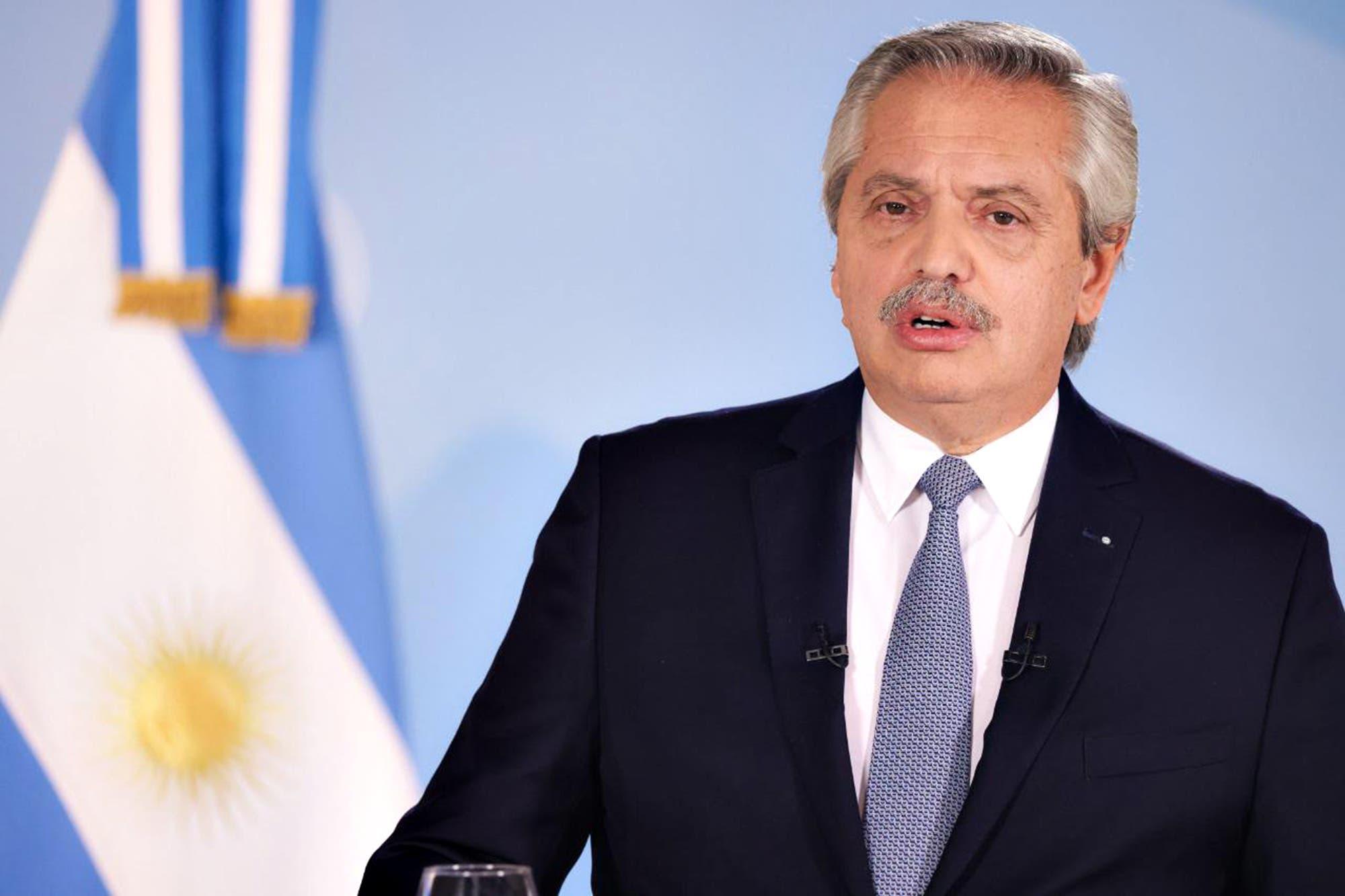 El Presidente anunció un confinamiento estricto por 9 días en casi todo el país
