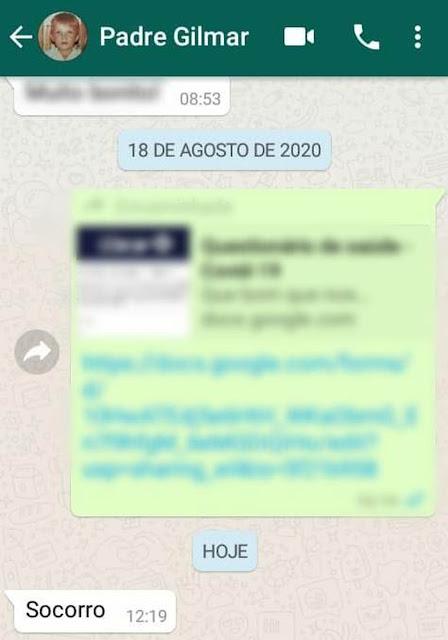 Padre que atuou em marilia está desaparecido Após pedir socorro Pelo Whatsapp