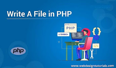 Write a File in PHP