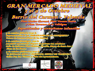 Programa de las fiestas de Moros y Cristianos de FeVaMiC