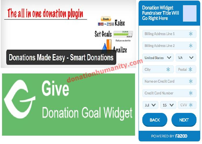 Cryptocurrency donation button on forum sites
