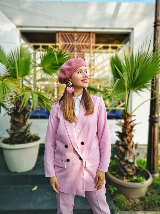 adina nanes pink suit