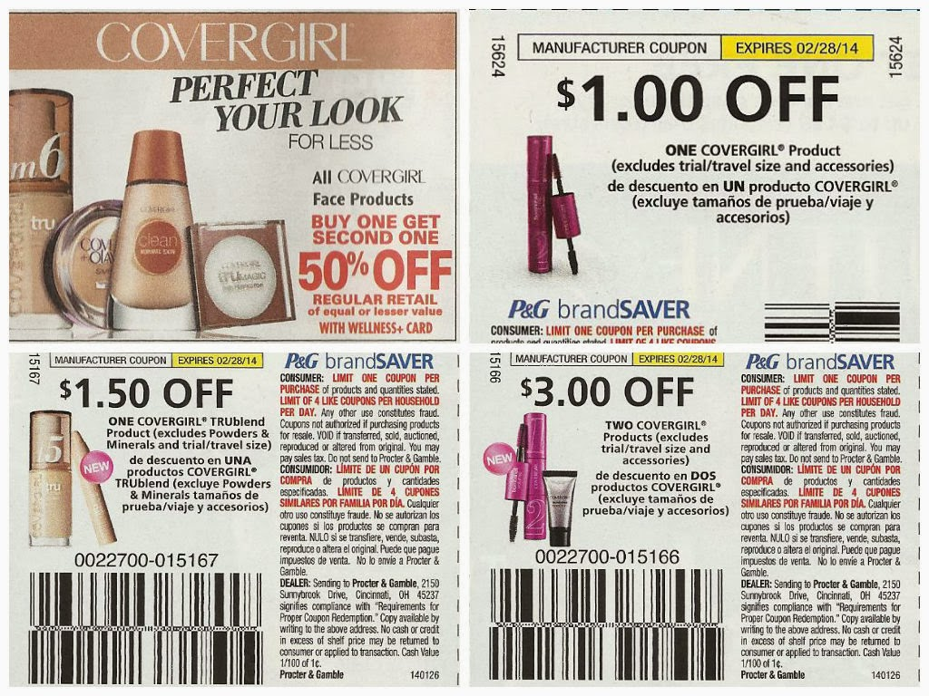 covergirl printable coupons living and loving makeup drugstore deals february 9 15 2014 21215