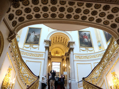 The Grand Staircase, Buckingham Palace Photo © Andrew Knowles